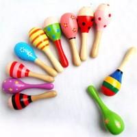 baby rattle stick mainan kerincingan bayi marakas