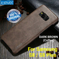 X-Level Vintage Samsung Galaxy S8 / S8+ Plus Leather Back Cover Casing