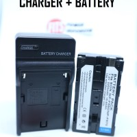 PAKET CHARGER + BATTERY FOR SONY NP-F550/F570