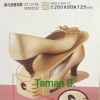 INFORMA SET SHOE SPACE SAVER 2 PCS / RAK SEPATU 2 PCS