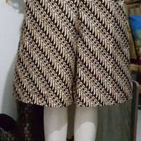 kulot pendek / kulot wilona / kulot batik modern