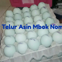 TELUR ASIN / TELOR ASIN MBOK NOM (asli, langsung dari produsen)