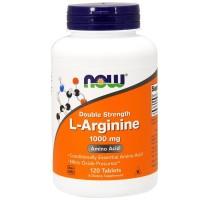Amazon Best NOW Foods, L-Arginine, 1000 mg, 120 Tablets Import