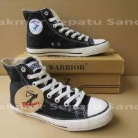 Sepatu Sekolah - Warrior Sparta HC - Black/White