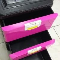 Verona VE 300 Rak Plastik Lemari Kabinet Container Cabinet Stock Case