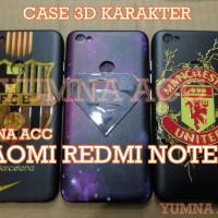 CASE 3D KARAKTER XIAOMI REDMI NOTE 5A/NOTE 5A PRIME