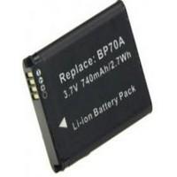 Baterai Kamera Samsung BP70A BP70EP SLB-70A (OEM) - Hitam