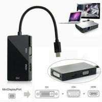 Konektor Thunderbolt to HDMI,VGA,DVI ( Macbook ke TV,Projector)