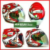 Jual HELM CUSTOM REPLIKA BASIC INK CENTRO MEREK AGV MOTO GP SERIES (6)