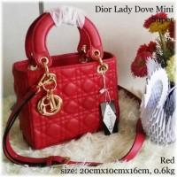 Tas Pesta Cantik Dior Lady Dove Mini Super Tas Wanita Kualitas Import