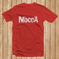 Kaos Band Mocca Indonesia - Cotton Combed