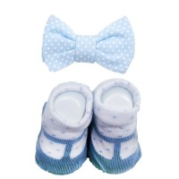 Lacraf Bow Tie & Socks Louise