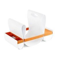 Boon Loop Diaper Caddy - Orange