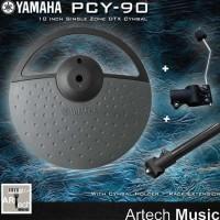 Yamaha DTX PCY90AT / PCY 90 AT / PCY90 AT Cymbal Elektrik 10 Inch