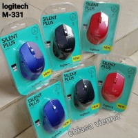 Mouse Wireless Logitech M331 Silent Plus ORIGINAL - Body M280 Retouch