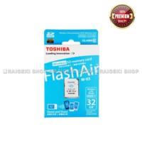 Toshiba FlashAir W-03 Wireless SD Flash Memory Card 32 GB Wi-Fi Full