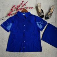 blouse import big size jumbo brukat | baju kemeja korea bangkok
