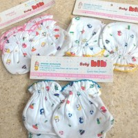 sarung tangan kaki bayi baby | perlengkapan bayi grosir lusinan lucu B