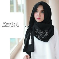 Jual Jilbab Instan Amira/Instan Ladiza /Hijab Instan Amira Hitam Murah
