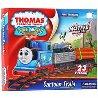Mainan Anak Cartoon Train Thomas 23 Pcs No. 233B-1 - Kereta Thomas