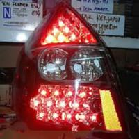 Honda Jazz Gd3 Stoplamp Th 2002 Sd 2007 Double LED Black JDM Murah