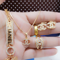set perhiasan xuping 24 k