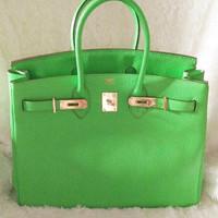 Hermes birkin hb35 original leather DISKON.. handbag tas wanita