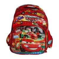 TD Tas Ransel Anak Karakter Cars / Backpack 3D Sekolah