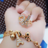 set gelang cincin xuping