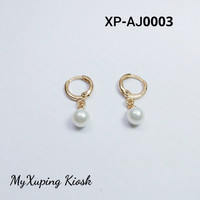Xuping Anting Jurai Emas Mutiara Kecil XP-AJ0003