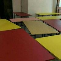 Meja Lipat Uk.90x60 / Meja Makan Lipat / Meja Cafe Lipat / Meja Bazar