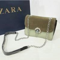 Tas zara trafaluc sling bag ori with paperbag