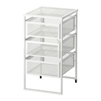 IKEA LENNART Unit Laci Putih 30x34x56 Cm