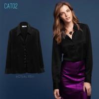 L5408 CAT02 Women Plus Size Shirt KODE V5408