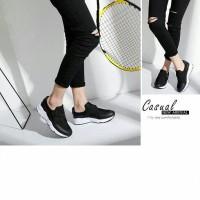 Sepatu Wanita Sandal Cewek SLIP ON CROSS CLASP CONNIE Model Baru Murah