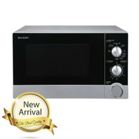 Sharp Straight Microwave Oven 23Liter Low Watt 450W R-21DO(S)-IN R21DO