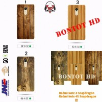 New 2018 XIAOMI REDMI NOTE 4 4X SNADRAGON Casing Wood Bamboo 3D Soft