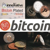 Bitcoin Fisik Gold & Silver Plated High Quality [READY ATC]