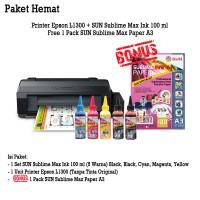Printer Epson L1300 SUN Sublime MAX Ink BONUS Sublime MAX Paper A3