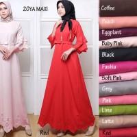 Promo Baju Muslim [Zoya maxi GZ] maxi wanita baloteli var color