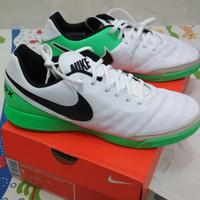 Sepatu futsal Nike Tiempo X Genio ll Leather ic # tiempo original