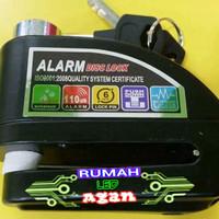 Jual Disch Lock Alarm Gembok Cakram Disk Motor Anti Maling Murah