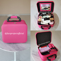 Koper Make Up Beauty Case Kotak Rias Tas Kosmetik Makeup Box Kecil