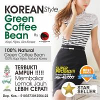 Jual KOREAN GREEN COFFEE BEAN - KOPI HIJAU KOREA - LEBIH AMPUH Murah