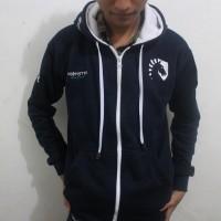 Jacket hoodie Team Liquid Dota 2 FULL BORDIR GRATIS NICK + KEYCHAIN