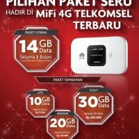 Huawei E5577 Modem Mifi 4G LTE Free Kuota 14GB tanpa isi ulang