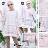 Atasan Blouse Katun Tenun Fashion Wanita Extra Large XL-XXL Baju Murah