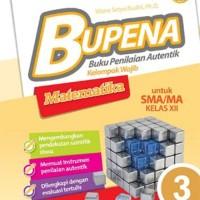 Buku Pelajaran SMA / MA BUPENA Matematika kelas 3 Kurikulum 2013