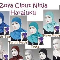 Dalaman Kerudung Ciput Ninja Harajuku by Zoya