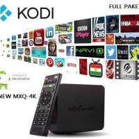 terbaru TV Box Android MXQ-4K Full Paket
